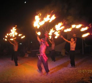 Feuershow Royal Lido Resort & Spa