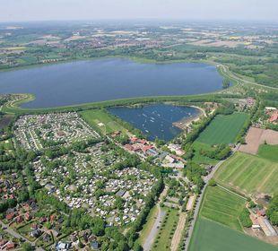 Ausblick Alfsee Ferien- und Erholungspark - Ferienhäuser