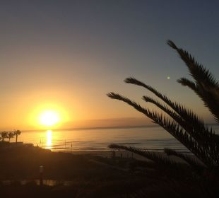 Sonnenaufgang vom Balkon aufgenommen IBEROSTAR Hotel Playa Gaviotas