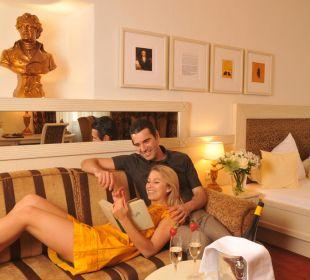 Romantische Momente in unserer Juniorsuite Best Western Plus Hotel  Goldener Adler
