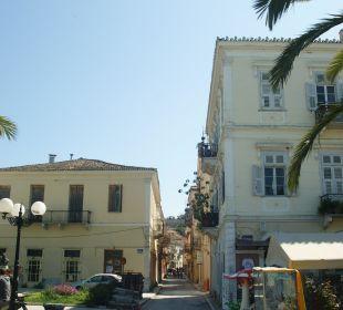 Stichstraße zur Pension Hotel Omorfi Poli