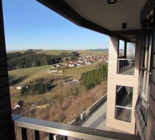 Vom Balkon Hotel Schatz.Kammer Burg Kreuzen