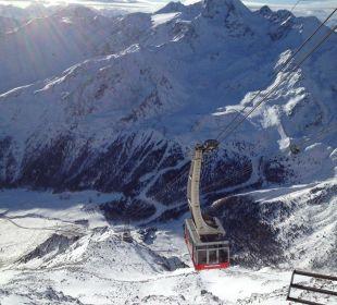 Seilbahn zum Hotel Glacier Hotel Grawand