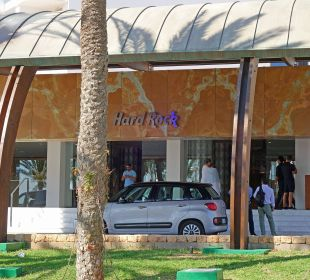 Seilicher Eingang Hard Rock Hotel Ibiza