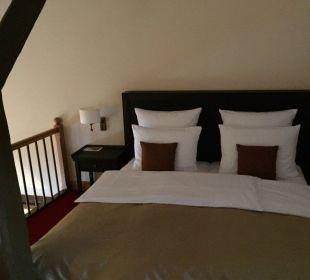 Schlafen auf der Empore Hotel Schloss Waldeck