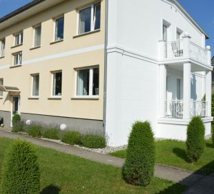 Außenansicht Villa Herbstwind - Appartementvermietung Binz