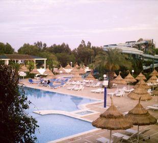 Blick aus dem Zimmer Hotel Club Acquaviva
