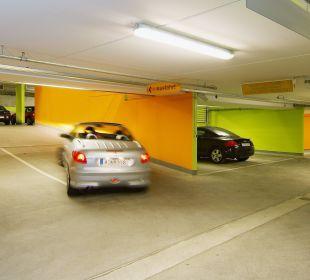 Parkhaus Annahof am Hotel City Hotel Ost am Kö Augsburg