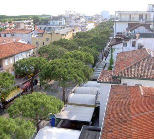 Toller Blick auf die Einkaufsmeile Hotel Panorama