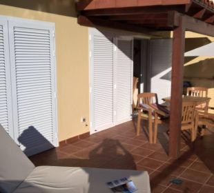 Balkon zu Nr. 14 Bungalows Ultra Dos Calle Risco Blanco