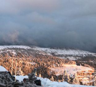Ausblick Berghotel Mummelsee