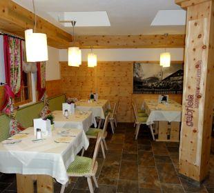 Rustikaler Teil des Hotel-Restaurants Hotel Gabriela