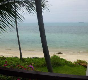 Der Ausblick vom eigenen Balkon Belmond Napasai