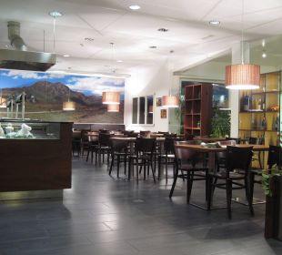 Frühstücksbereich Motel Gottardo Sud