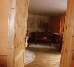 Eingang zu Zimmer 1 Hotel Landhaus Wremer Deel