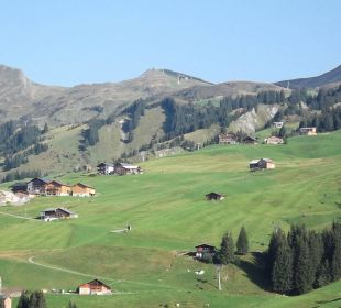 Blick auf die UGA-Alp Berghotel Madlener