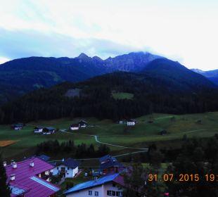 Ausicht von unserem Balkon Gasthof Paternwirt