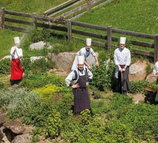 Der Kräutergarten Wohlfühlhotel Falzeben