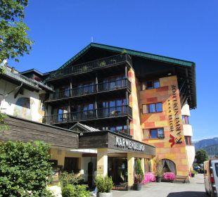 Außenansicht Hotel Karwendelhof