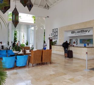 Blick auf Rezeption Hotel BlueBay Villas Doradas Adults Only