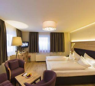 Komfortdoppelzimmer Alpina Family, Spa & Sporthotel