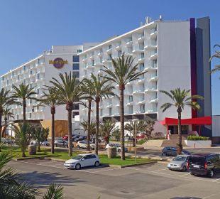 Hotel Seitenansicht Hard Rock Hotel Ibiza