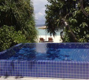 10 Meter bis zum Strand Hotel Banyan Tree Madivaru