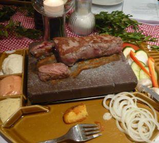 Filet am Tisch selbst gebraten Hotel Landgasthof Rebstock