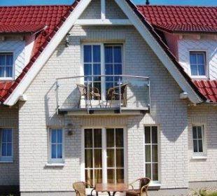 Alle DZ besitzen einen Balkon oder Terrasse Aparthotel Leuchtfeuer