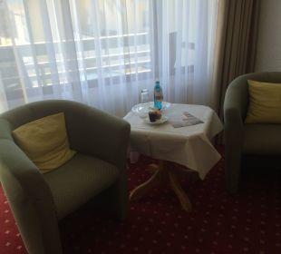 Gemütliche Sitzgruppe WellVital Hotel Tyrol