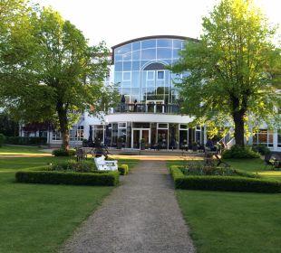 Gartenanlage Seehotel Großherzog von Mecklenburg