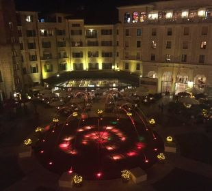 Piazza bei Nacht  Hotel Colosseo Europa-Park