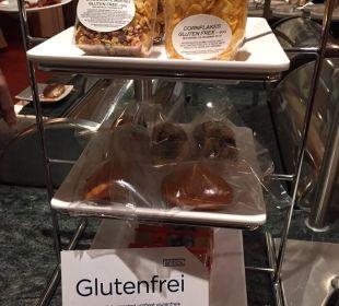 Glutenfreie Frühstücksauswahl NH Erlangen
