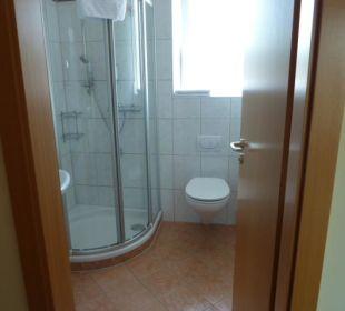 Dusche und Toilette Hotel Gasthof Fenzl