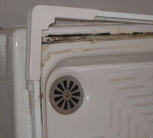 Schimmel in der Duschkabine