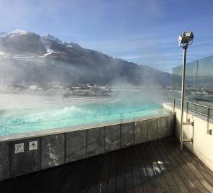 Perfekter Pool  Hotel Tauern Spa Zell am See-Kaprun