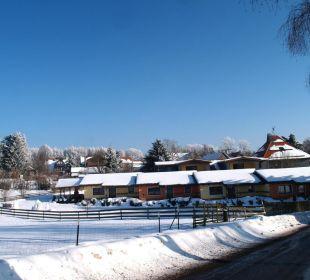 Barrierefreie Ferienwohnungen im Winter Gasthof Brauner Hirsch Sophienhof