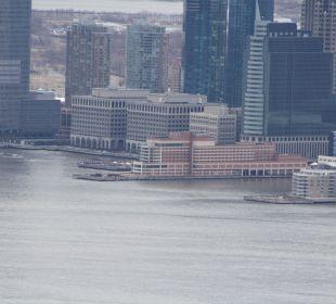 Blick from Empire State of the Hotel Hotel Hyatt Regency Jersey City On The Hudson