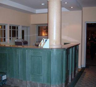 Die Rezeption Hotel Jodquellenhof Alpamare (Hotelbetrieb eingestellt)