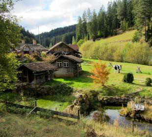 Ein Schwarzwaldtal wie man es sich vorstellt Pension Rehblick