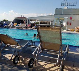 Der Pool Hotel Eraclea Palace