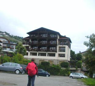 Außenansicht Hotel Taubers Unterwirt