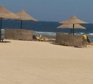 Viel Platz am Strand