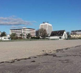 Sehr gepflegter Strand zum spazieren gehen Carat Golf & Sporthotel Residenz