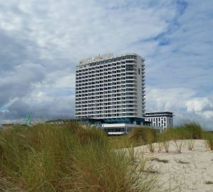 Von den Dünen aus gesehen Hotel Neptun