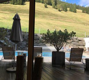 Saunabereich Hubertus Alpin Lodge & Spa