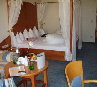 Bequemes Bett Thermenhotel Ronacher
