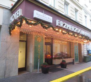 Eingangsbereich Hotel Erzherzog Rainer