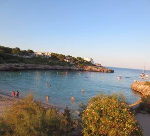 Bucht von einem Restaurant Hotel Ola Club Cecilia