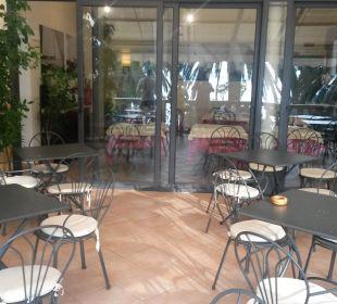 Frühstücksterrasse Hotel Medusa